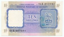More details for 1943 10/- ten shilling british armed forces special voucher banknote n. africa