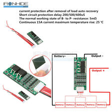 15A Li-ion Lithium Battery BMS 18650 Charger Protection Board 18V 21V Cell