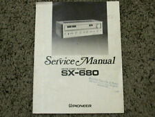 PIONEER SX-680 RECEIVER ORIGINAL SERVICE REPAIR MANUAL