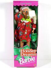 * Nib Barbie Doll 1994 Holiday Memories Christmas 12192