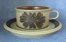 ARABIA OF FINLAND, Vintage, Tunturi, Tea Cup & Saucer, Excellent