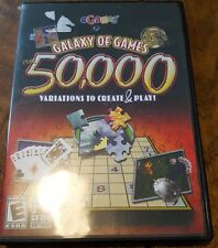 Galaxy of Games over 50,000 Variations to Create & Play PC CD-Rom Windows