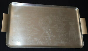 1962-63 TORONTO MAPLE LEAFS WORLD CHAMPIONS DOMINION STORE SERVING TRAY ORIGINAL