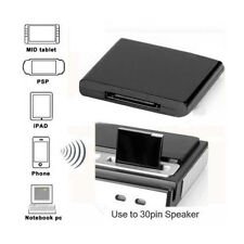 Mini 30Pin Bluetooth Music Audio Receiver Adapter For iPod iPhone Dock Black New