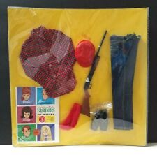 VINTAGE Barbie KEN Going Huntin' Hunting #1409 * Complete * New On Card! Japan