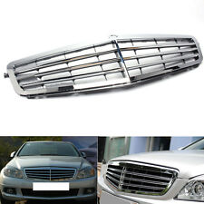 For Mercedes-Benz C CLASS/W204 2007-2013 Chrome Front Air-Inlet Grille Mesh
