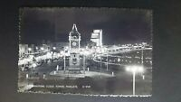 Illuminations, Clock Tower, Margate Shoesmith & Etheridge Real Photo Postcard