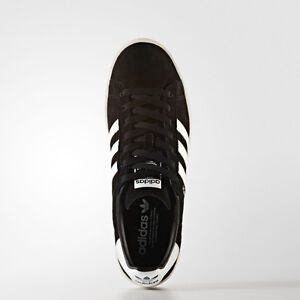 Women Adidas BZ0084 Campus Running shoes black white sneakers