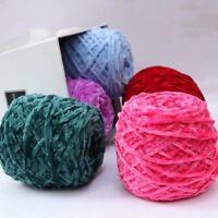 Hand DIY Yarn Chunky Crochet Chenille Milk Velvet Knitting Wool Sweater Scarfs