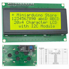 LCD 2004 Yellow Serial IIC I2C TWI 20x4 LCD2004 Module Display Screen Arduino