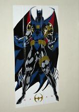 1993 DC Comics Batman 29x14 Dark Knight detective poster:1990's Azrael Knighfall