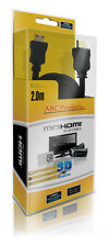 Sony Handycam HDR-CX700/DCR-DVD105/HDR-PJ10 Videocámara Mini C HDMI HD Cable