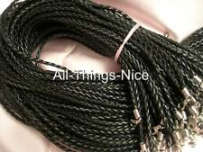 "SILK 18-24/"" SLIDE Pendant Tie Necklace Braid Strings Fashion Jewellery Cords 25"