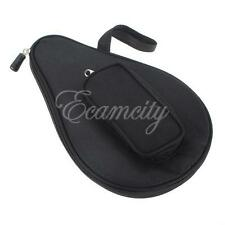 Waterproof Table Tennis Racket Ping Pong Paddle Bat Bag Pouch with Ball Case NEW