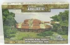 Konflikt '47 452410211 German King Tiger-X with Heavy Rail Gun Weird War Tank