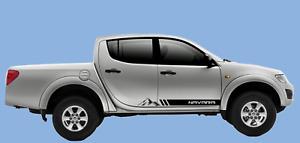 Nissan Navara Side Stripe Decals Vinyl Sticker / Graphics ANY COLOUR