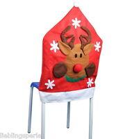 L/P 1 Weihnachten Rentier Stuhlabdeckung Stuhlhussen Stuhlbezug 66x48.5cm