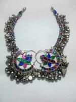 Handmade Kuchi Afghan Earrings Tribal Jewelry Anchor Bohemian Boho from pakistan