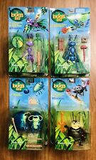 Disney A Bug's Life Vintage Action Figure Flick, Atta, Francis Tuck And Roll SET