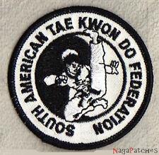 Ecusson brodé patche South American Tae Kwon Do patch embellissement