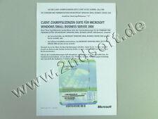 5 Zugriffslizenzen (Geräte) für Windows Small Business Server 2008 Standard, SB
