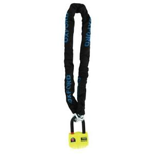 Oxford OF9 Boss Alarm Chainlock 2M Motorcycle Bike Security