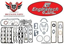 Chevy Chevrolet 350 5.7 Sbc Enginetech Premium Overhaul Gasket Set 1986-1995