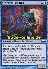 4x schriftrollendieb (scroll Thief) Magic 2014 m14 Magic