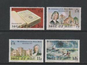 Isle of Man - 1975, Christmas, Manx Bible set - MNH - SG 71/4