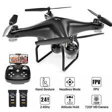 SNAPTAIN WIFI FPV Drohne mit HD Kamera Selfie Quadrocopter RC Drone + 2 Akkus