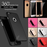 Case for iPhone 6 7 8 5S SE Plus XS Cover 360 Luxury UltraThin Shockproof~HRDUK