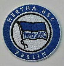 Aufnäher Patch FC Fußball Football club BSC Hertha Berlin Bügelbild bundesliga