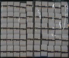 NEW Wilson Pro Overgrip - 50 Pack Tennis Grip Tape Roger Federer RF WHITE