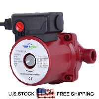 NPT 3/4'' Hot Water Circulation Pump 3-Speed Domestic Circulator Pump 110-120V