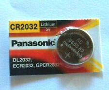 Piles bouton Lithium 3V CR2032 PANASONIC DL2032 ECR2032 GPCR2032