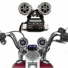 Motorcycle Speaker Audio Sound System Stereo Radio Speakers Bluetooth MP3/USB FM