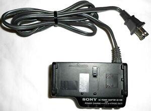 Genuine Sony AC-V26 Power Supply 7.5V-10V HandyCam Camcorder DC Battery Charger