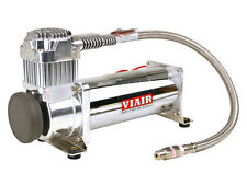VIAIR 444C CHROME AIR RIDE BAG SUSPENSION COMPRESSOR PUMP LOWRIDER TRAIN MINI