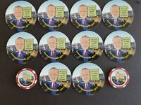 Las Vegas Former Mayor Oscar Goodman, Collectibles, fridge magnets and tokens