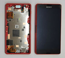 GENUINE SONY XPERIA Z3 COMPACT LCD DISPLAY MODULE/FRONT HOUSING - ORANGE