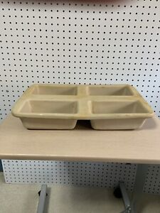 Pampered Chef Heritage Collection Mini Loaf Pan 4 Stone Stoneware #1418