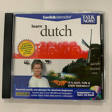 Talk Now! Learn Dutch - Pc/Mac (Brand New)