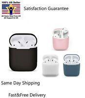 AirPods Silicone Case Cover Protective Skin for Apple Airpod Charging Case *NEW