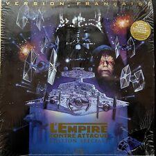LASERDISC - L'EMPIRE CONTRE ATTAQUE - STAR WARS - THX VF PAL - EDITION SPECIALE