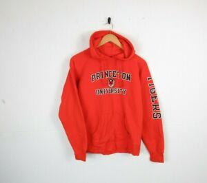 Vintage Womens Champion College Princeton Uni Graphic Hoodie Sweatshirt 90s | M