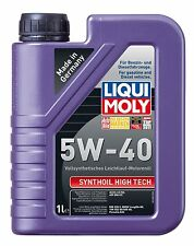 1L Liqui Moly Motoröl Synthoil High Tech 5 W-40 1306 Vollsynthetisch  #