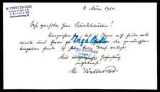 Schriftstück Autogramme & Autographen
