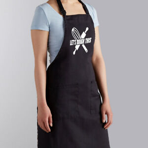 Let's Dough This Cooking Funny Saying BBQ Barbecue Grilling Gift Cooking Apron