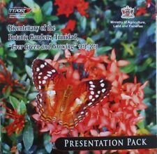 Trinidad & Tobago Botanic Gardens Large Official Presentation Pack 200 Years