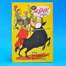 Mosaik 227   Digedags Hannes Hegen Originalheft   Original DDR AC 1 A